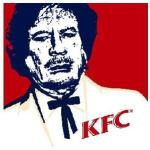 kaddafi fried chicken