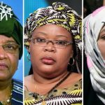 (l to r) Ellen Johnson-Sirleaf, Leymah Gbowee And Tawakkul Karman all received the 2011 Nobel Peace Prize for their efforts in women&#039;s rights