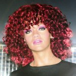 The final touches are made to Rihanna's wax work as it is unveiled at Madame Tussauds in London. (Oct. 3, 2011)
