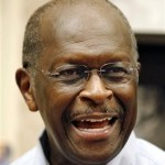 Republican presidential candidate businessman Herman Cain answers a question during a book signing Wednesday, Oct. 5, 2011, in St. Petersburg, Fla. (AP Photo/Chris O'Meara)