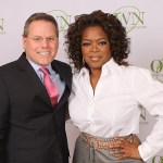 Discovery CEO David Zaslav and Oprah Winfrey