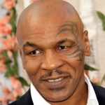 Mike Tyson arrives at Comedy Central's Roast of Charlie Sheen held at Sony Studios on Sep.t 10, 2011 in Los Angeles