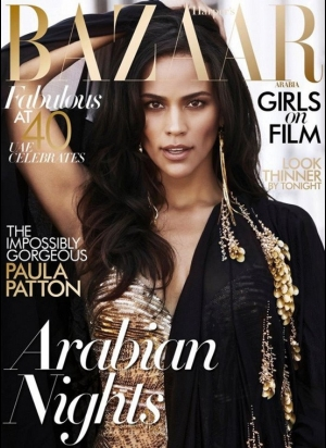 paula patton harpers bazaar cover
