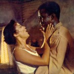 "Dorothy Dandridge and Sidney Poitier in ""Porgy and Bess"""