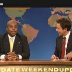 SNL's Kenan Thompson is Herman Cain and he makes yet another declaration of the suspension of his campaign and all the mistakes that were made and those that still support him.
