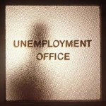 unemployment office door