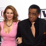 Don Cornelius with Viktoria Chapman Cornelius at the 3rd Annual 'TV Land Awards (March 13, 2005)' - Arrivals - held in the Barker Hangar at Santa Monica airport Santa Monica, California