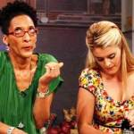 Carla Hall (L) and Daphne Oz of &quot;The Chew&quot;