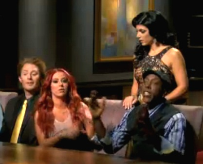 aubrey and arsenio fight on apprentice