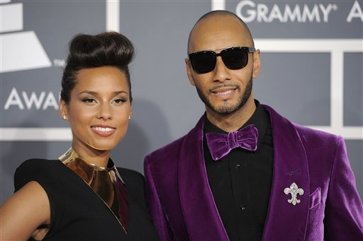 alica keys and swizz beatz