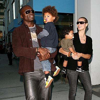Seal, Heidi Klum and the kids