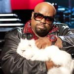 "Cee Lo Green and his cat Purrfect appear on ""The Voice"""