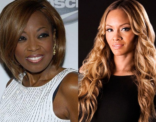 Star Jones and Evelyn Lozada