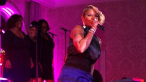 Mary J. Blige performs