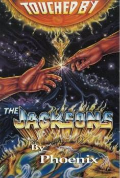touched by the jacksons  (book cover)