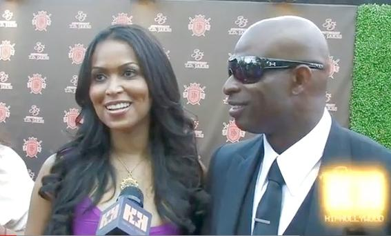 tracey edmonds & deion sanders