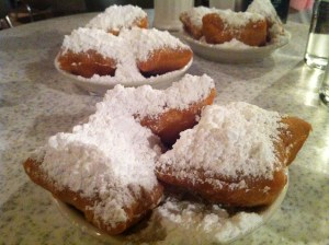 Yum! Beignets from Cafe Du Monde