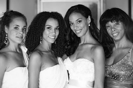 Donna Summer and daughters