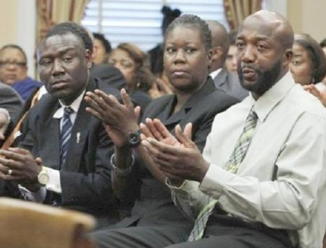trayvon parents &amp; lawyer