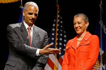 attorney general eric holder and wife