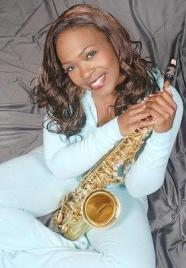 Jeanette harris (with sax)