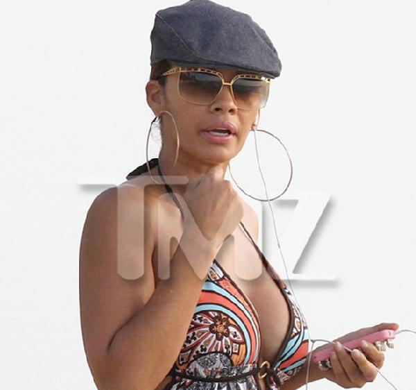 evelyn lozada (post headbutting)