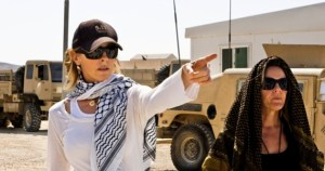 Director Kathryn Bigelows on the set of her Bin Laden Thriller &quot;Zero Dark Thirty&quot;