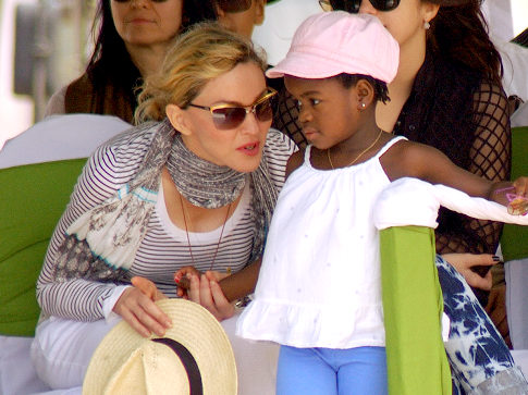madonna and adopted daughter mercy james