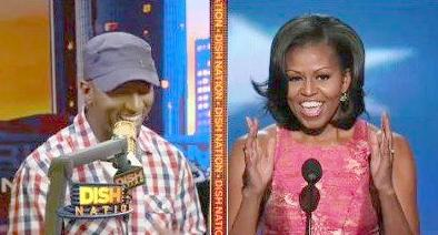 rickey smiley &amp;michelle obama