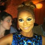 tamar braxton (at premiere party in nyc)