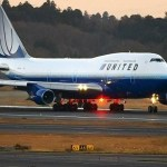 united 747 aircraft