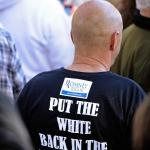 ROMNEY Supporter, rascist T-shirt2