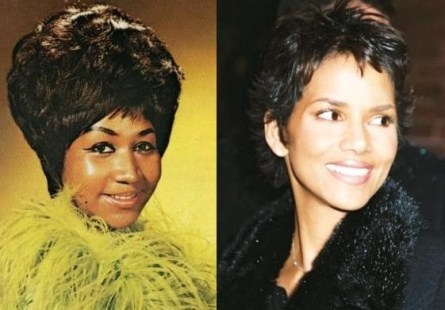 aretha franklin & halle berry
