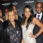 cissy houston, bobbi kristina & nick gordon