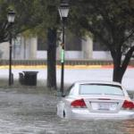 hurricane sandy (car flooding)