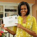 michelle obama early voter