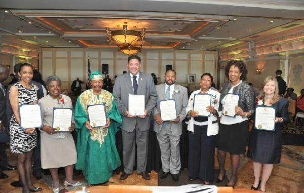 2012 NAACP Mid-Manhattan Branch Roy Wilkins award recipients