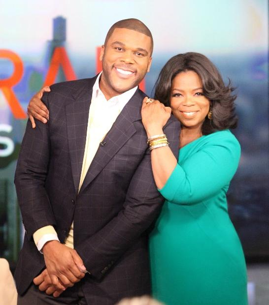 tyler perry &amp; oprah winfrey