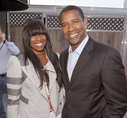 denzel & daughter olivia