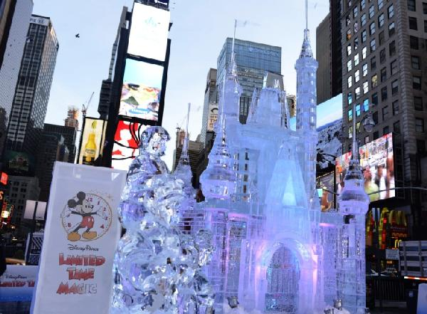disney ice castles in manhattan