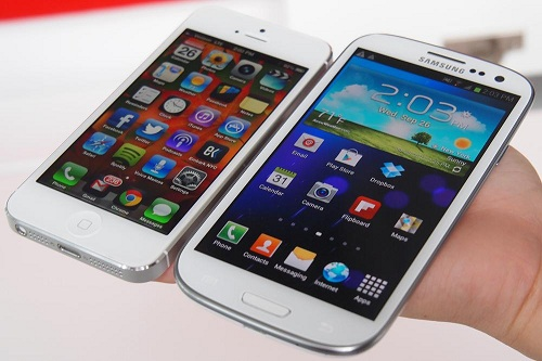 iphone & galaxy s3