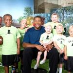 michael strahan &amp; st judes kids
