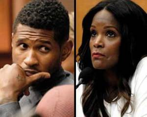 usher &amp; tameka