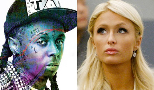 lil wayne &amp; paris hilton