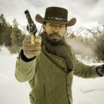 Jamie Foxx with gun, Django