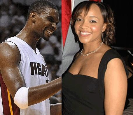 chris bosh &amp; allison mathis