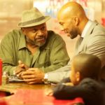 (L to R) Charles S. Dutton, Common and Michael rainey, Jr. in the Sheldon Candis directed Urban drama LUV.