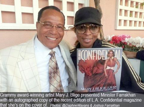 farrakhan &amp; mary j