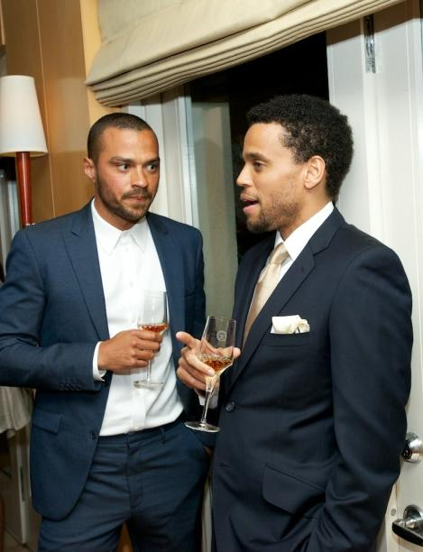 jesse williams &amp; michael ealy