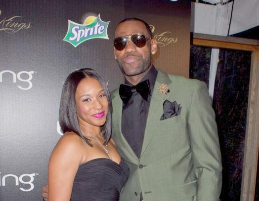 lebron james & savannah brinson1